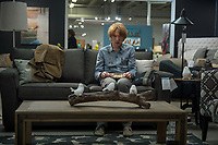 Crash Pad (2017)<br /> Domhnall Gleeson<br /> *Filmstill - Editorial Use Only*<br /> CAP/MFS<br /> Image supplied by Capital Pictures
