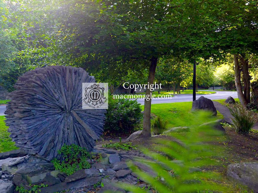 The fern garden on Mission Road in Killarney town centre this weekend ahead of the Tidy Town Awards..Picture by Don MacMonagle