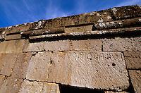 Italien, Umbrien, etruskische Nekropole Crocifisso dei Tufo in Orvieto