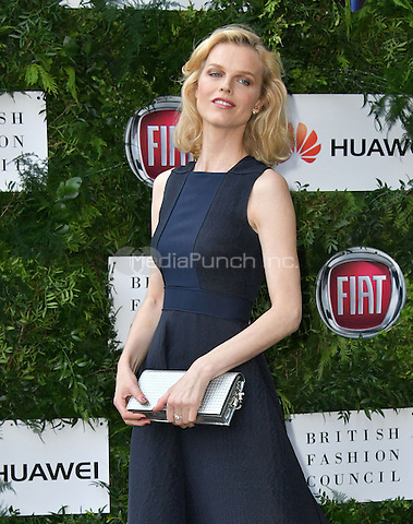 Eva Herzigova at Charity ball in aid of One For The Boys, a charity raising awareness of male forms of cancer, encouraging men to get checked regularly. Evening celebrates the launch of the 2016 campaign film The Difference, at Victoria and Albert Museum, London, England June 12, 2016.<br /> CAP/JOR<br /> &copy;JOR/Capital Pictures /MediaPunch ***NORTH AND SOUTH AMERICAS ONLY***