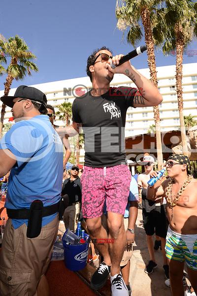 LAS VEGAS, NV - June 15: Sky Blu of LMFAO performs at REHAB at the Hard Rock Hotel on June 15, 2014 in Las Vegas, Nevada. © GDP Photos/ Starlitepics