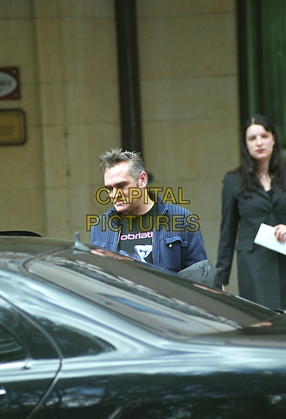MORRISSEY - THE SMITHS.Dorchester Hotel.June 27th, 2004.paparazzi pictures, car, headshot, portrait.www.capitalpictures.com.sales@capitalpictures.com.©Capital Pictures