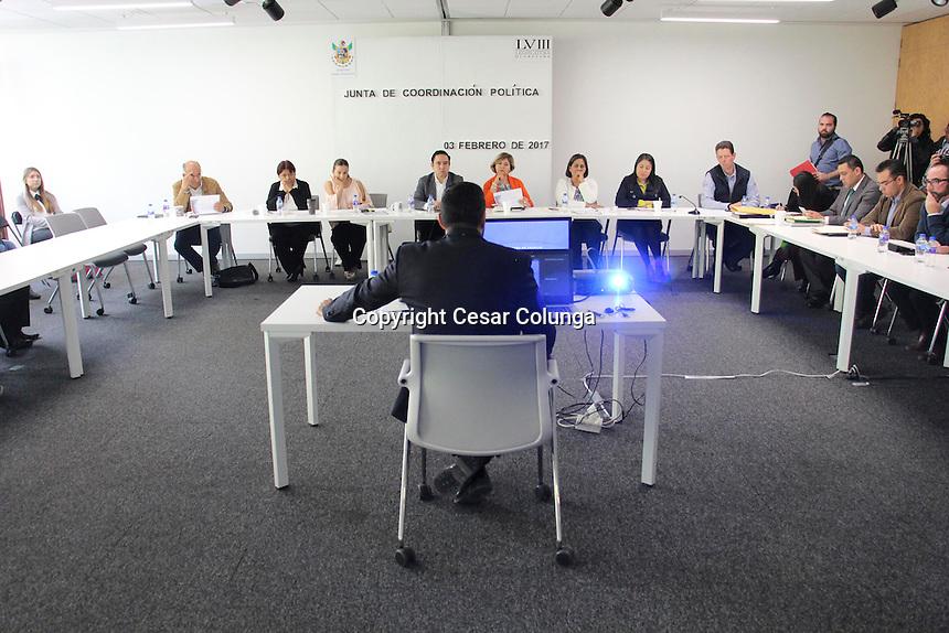 Quer&eacute;taro, Quer&eacute;taro. 3 de febrero de 2017.- &nbsp;La junta de Concertaci&oacute;n Pol&iacute;tica entrevist&oacute; a los siete contendientes para la presidencia de la Defensora de los Derechos Humanos.<br /> Foto: Cesar Colunga.