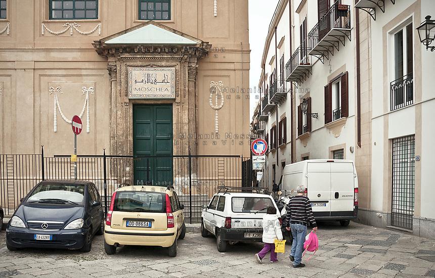 Mosque in Palermo.<br /> Moschea di Palermo