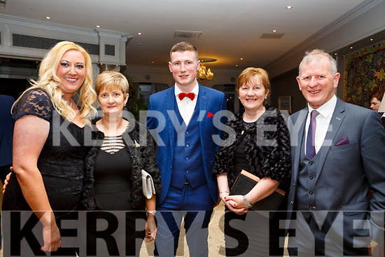 Sheila Quinlan, Ann and Ian Guerin, Rita and Paudie Dineen attending the Ballyduff GAA Social in the Rose Hotel on Saturday night last.