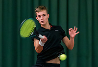 Wateringen, The Netherlands, November 27 2019, De Rhijenhof , NOJK 12 and16 years, Daan van Dijk (NED)<br /> Photo: www.tennisimages.com/Henk Koster