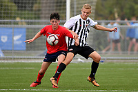 National Age Group Tournament at Petone Memorial Park, Lower Hutt, New Zealand on Friday 14 December 2018. <br /> Photo by Masanori Udagawa. <br /> www.photowellington.photoshelter.com