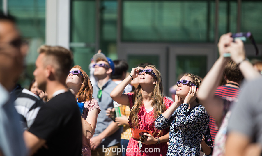 Eclipse_9<br /> <br /> Solar Eclipse on BYU Campus<br /> <br /> August 21, 2017<br /> <br /> Photography by Savanna Richardson/BYU<br /> <br /> © BYU PHOTO 2017<br /> All Rights Reserved<br /> photo@byu.edu  (801)422-7322