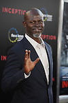 "HOLLYWOOD, CA. - July 13: Djimon Hounsou  arrives to the ""Inception"" Los Angeles Premiere at Grauman's Chinese Theatre on July 13, 2010 in Hollywood, California."