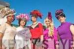 Ladies Day Listowel Races : Pictured at Ladies Day in Listowel ofn Friday last were Patricia O'Grady, Ballyduff, BetesaideHailegeorgis, Tralee, Lorraine Sheehan, Ballyduff, Kristin McKenzie-Vass, Tralee & Ursula Kissane, Killorglin.