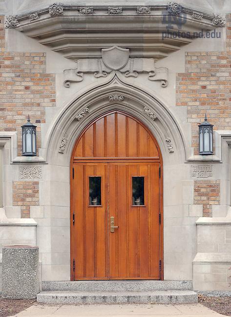June 13, 2011; Alumni Hall East Door..Photo by Matt Cashore/University of Notre Dame