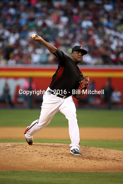 Rubby De La Rosa - 2016 Arizona Diamondbacks (Bill Mitchell)