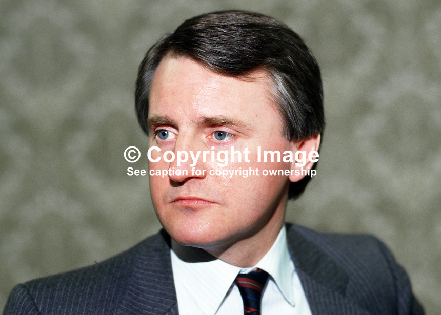 Boyd Black, law lecturer, Queen's University, Belfast, N Ireland, 19860304BB.<br />