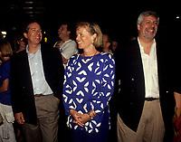 FILE - Daniel Johnson et son frere Pierre-Marc, entre 1991 et 1995