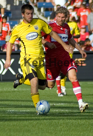 Jason Garvey, Columbus Crew and Logan Pause, Chicago Fire