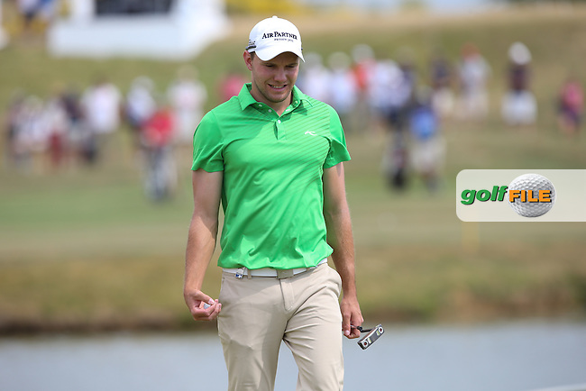 Maximilian Kieffer (GER) carded a 65 during Round Three of the 2015 Alstom Open de France, played at Le Golf National, Saint-Quentin-En-Yvelines, Paris, France. /04/07/2015/. Picture: Golffile | David Lloyd<br /> <br /> All photos usage must carry mandatory copyright credit (&copy; Golffile | David Lloyd)