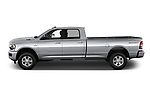 Car driver side profile view of a 2019 Ram 3500 Big Horn 4 Door Pick Up