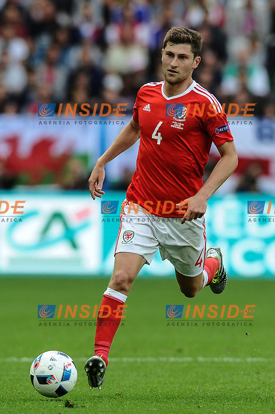 Ben DAVIES Galles<br /> Bordeaux 11-06-2016 Stade de Brodeaux football Euro2016 Wales - Slovakia / Galles - Slovacchia Group Stage Group B. Foto Panoramic / Insidefoto