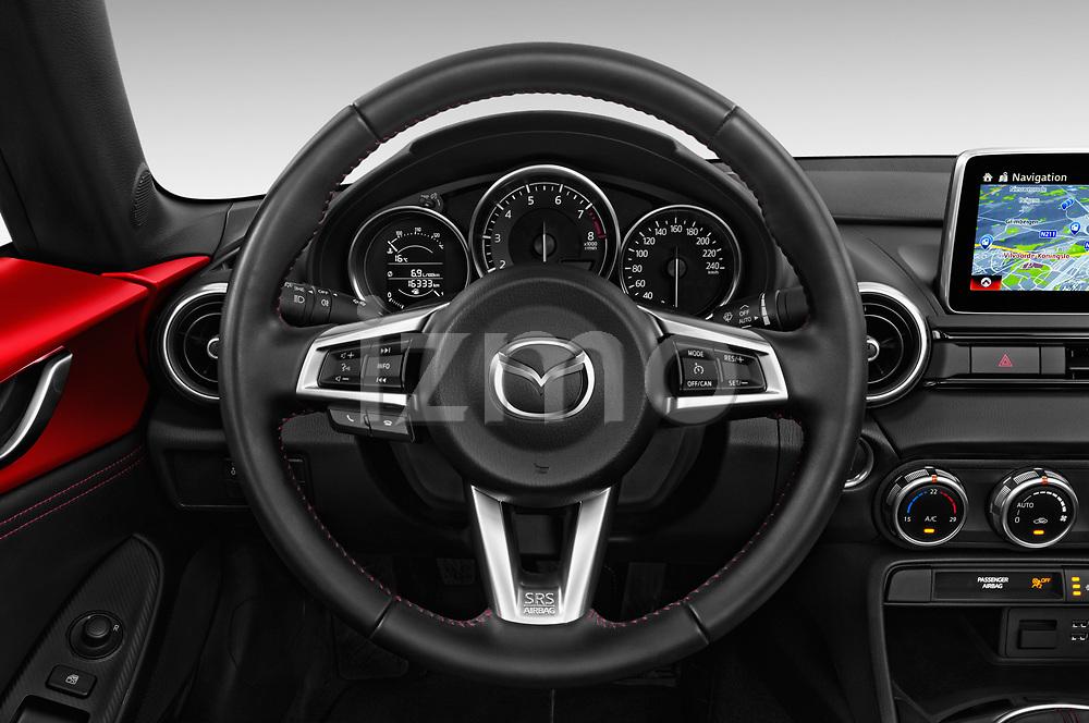 Car pictures of steering wheel view of a 2016 Mazda MX-5 Skycruise 2 Door Convertible Steering Wheel