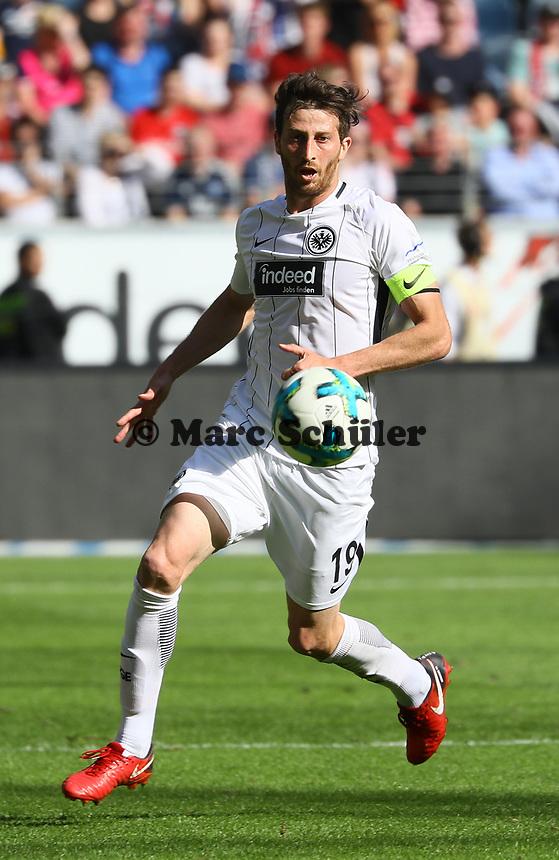 Freisteller David Abraham (Eintracht Frankfurt) - 05.05.2018: Eintracht Frankfurt vs. Hamburger SV, Commerzbank Arena, 33. Spieltag Bundesliga