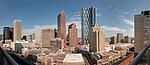 Downtown Calgary panorama.