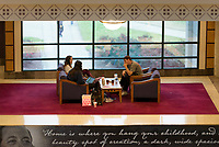 Students in the library getting ready for finals week.<br />  (photo by Marco Lopez / &copy; Mississippi State University)