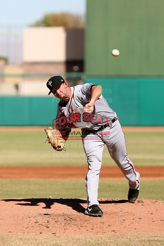 Mike Minor - Peoria Saguaros, 2009 Arizona Fall League.Photo by:  Bill Mitchell/Four Seam Images..