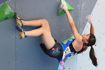 /Futaba Ito (JPN), <br /> AUGUST 26, 2018 - Sport Climbing : <br /> Women's Combined Final Bouldering <br /> at Jakabaring Sport Center Sport Climbing <br /> during the 2018 Jakarta Palembang Asian Games <br /> in Palembang, Indonesia. <br /> (Photo by Yohei Osada/AFLO SPORT)