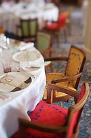 Europe/France/Provence-Alpes-Côte d'Azur/06/Alpes-Maritimes/Antibes/Juan-les-Pins: Hôtel Belle Rives _Salle art déco du restaurant: La Passagère