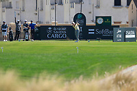 Richard McEvoy (ENG) on the 11th tee during the final round of  the Saudi International powered by Softbank Investment Advisers, Royal Greens G&CC, King Abdullah Economic City,  Saudi Arabia. 02/02/2020<br /> Picture: Golffile | Fran Caffrey<br /> <br /> <br /> All photo usage must carry mandatory copyright credit (© Golffile | Fran Caffrey)