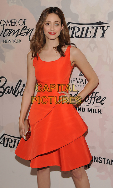 New York,NY- April 24: Emmy Rossum  attends Variety's Power of Women New York at Cipriani 42nd Street on April 24, 2015 in New York City. <br /> CAP/MPI/STV<br /> &copy;STV/MPI/Capital Pictures