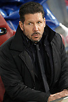 Atletico de Madrid's coach Diego Pablo Cholo Simeone during UEFA Champions League match. March 15,2016. (ALTERPHOTOS/Acero)