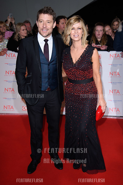 Ben Shepherd &amp; Kate Garaway at the National Television Awards 2018 at the O2 Arena, Greenwich, London, UK. <br /> 23 January  2018<br /> Picture: Steve Vas/Featureflash/SilverHub 0208 004 5359 sales@silverhubmedia.com