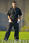 Pat O'Driscoll  Ardfert Manager in the Club Championship Intermediate Semi Fanal at Austin Stack Park on Saturday.