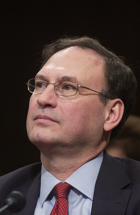01/10/06.ALITO HEARINGS--Samuel A. Alito Jr., during his Senate Judiciary hearing on his nomination of to be an associate justice of the U.S. Supreme Court. .CONGRESSIONAL QUARTERLY PHOTO BY SCOTT J. FERRELL