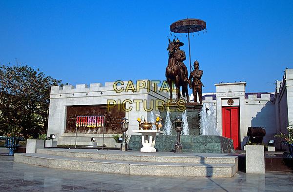 Statue of King Naresuan, Phitsanulok, Thailand