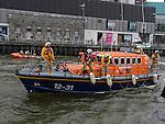 Clogherhead lifeboat Doris Bleasdale on the river Boyne. Photo:Colin Bell/pressphotos.ie
