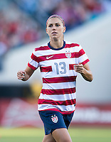 Alex Morgan  The USWNT defeated Scotland, 4-1, during a friendly at EverBank Field in Jacksonville, Florida.