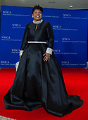 April Ryan arrives for the 2018 White House Correspondents Association Annual Dinner at the Washington Hilton Hotel on Saturday, April 28, 2018.<br /> Credit: Ron Sachs / CNP<br /> <br /> (RESTRICTION: NO New York or New Jersey Newspapers or newspapers within a 75 mile radius of New York City)