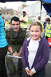 Leah Gough and Michael Noonan at the Garda Station Open Day...Picture Jenny Matthews/Newsfile.ie