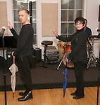 Alan Cumming and Chita Rivera in Rehearsal for 'Chita: Nowadays'  at Michiko Studio on October 27, 2016 in New York City.