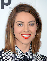 SANTA MONICA, 25.02.20-17 - SPIRIT-AWARDS - Aubrey Plaza durante Film Independent Spirit Awards em Santa Monica na California nos Estados Unidos (Foto: Gilbert Flores/Brazil Photo Press)