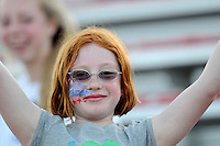 Washington Freedom fan.  Boston Breakers defeated Washington Freedom 3-1at The Maryland SoccerPlex, Saturday April 18, 2009.