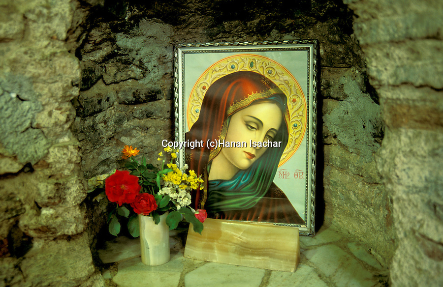 Turkey, Ephesus (Ephes). The Church of  St. Mary