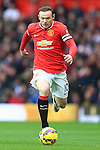 Wayne Rooney of Manchester United - Manchester United vs. Sunderland - Barclay's Premier League - Old Trafford - Manchester - 28/02/2015 Pic Philip Oldham/Sportimage