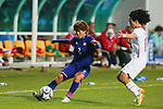 Saori Ariyoshi (JPN), <br /> SEPTEMBER 18, 2014 - Football / Soccer : <br /> Women's Group Stage <br /> between Japan Women's 12-0 Jordan Women's <br /> at Namdong Asiad Rugby Field <br /> during the 2014 Incheon Asian Games in Incheon, South Korea. <br /> (Photo by YUTAKA/AFLO SPORT)