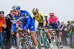 Philippe Gilbert (BEL) Deceuninck-Quick Step, Wout Van Aert (BEL) Team Jumbo-Visma and Sep Vanmarcke (BEL) EF Education First in action during the 117th edition of Paris-Roubaix 2019, running 257km from Compiegne to Roubaix, France. 14th April 2019<br /> Picture: Thomas van Bracht/PelotonPhotos.com | Cyclefile<br /> All photos usage must carry mandatory copyright credit (&copy; Cyclefile | Thomas van Bracht/PelotonPhotos.com)
