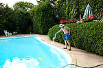 Cleaning Residential Swimming Pool