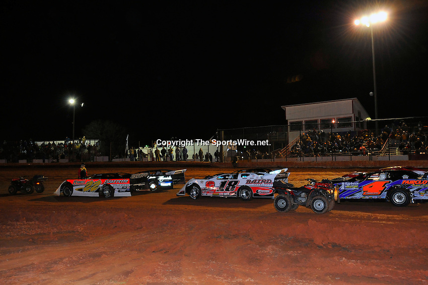 Jan. 30th, 2009; 10:40:10 PM;  Waynesville, GA . USA; 2009 O'Reilly Southern All Star Series running the Superbowl of Racing 5 at the Golden Isles Speedway.  Mandatory Credit: (thesportswire.net)