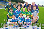 Pictured at the launch of the Kerry Cu?l Camps in Fitzgerald stadium on Tuesday evening were Cathal Crowley, Beth Coffey, Sean Twiss, David Leane, Cormac Leane, Cillian Kerins, Kelsey Kerins, Darran O'Sullivan, Eamon Fitzgerald, David Geaney, John Griffin, Marc O'Se?, Donal Daly, Brian Sheehan and Mike McCarthy...